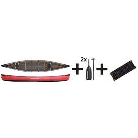 Pakboats PakCanoe 170 Jubelpaket Faltboot Kanadier Set Paddel