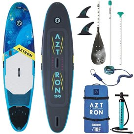 Aztron Soleil All Round 11.0 aufblasbares Stand up Paddle Board SUP Set