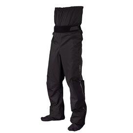 Hiko Bayard Air4 Dry Paddelhose Wassersport Hose mit Cordura Füßlingen schwarz