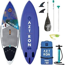 Aztron Orion Surf SUP 8.6 aufblasbares Stand up Paddle Board SUP Set