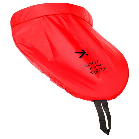 Hiko BIB Deck PU Kajak Spritzdecke Halbspritzdecke Spritzschutz rot hier im Hiko-Shop günstig online bestellen