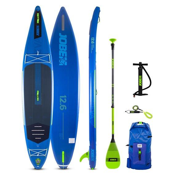 Jobe Neva 12.6 aufblasbares SUP Board Stand Up Paddle Board Set