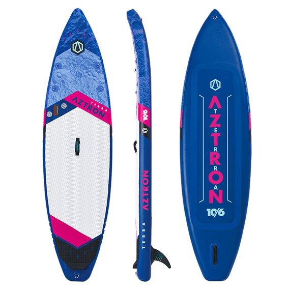 Aztron Terra Touring 10.6 aufblasbares Stand up Paddle Board SUP Set hier im Aztron-Shop günstig online bestellen