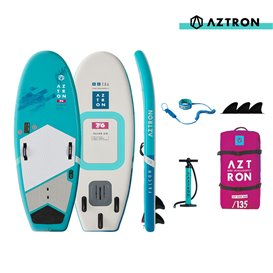 Aztron Falcon Foil 7.6 aufblasbares Stand up Paddle Board SUP Set