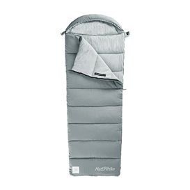 Naturehike M400 Schlafsack Baumwollschlafsack 300g grey