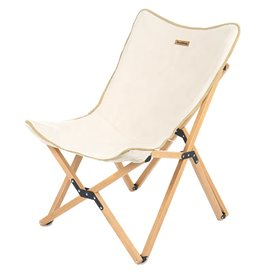 Naturehike Wooden Folding Chair XL Campingstuhl mit Holzgestell Faltstuhl