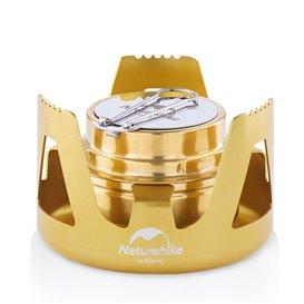 Naturehike Stove Mini Campingkocher Spirituskocher golden