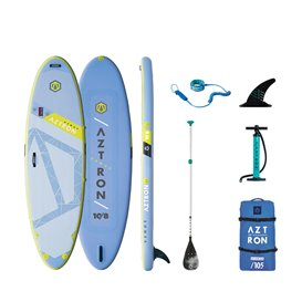 Aztron Venus Fitness All Round 10.8 aufblasbares Stand up Paddle Board SUP Set