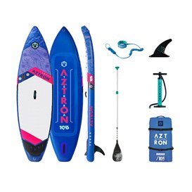 Aztron Terra Touring 10.6 aufblasbares Stand up Paddle Board SUP Set