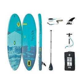 Aquatone Wave 10.0 All Round SUP aufblasbares Stand up Paddle Board Set