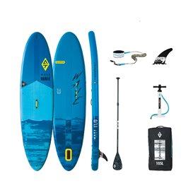 Aquatone Wave Plus 11.0 All Round SUP aufblasbares Stand up Paddle Board Set