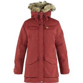 Fjällräven Nuuk Parka Damen Winterjacke Wintermantel red oak