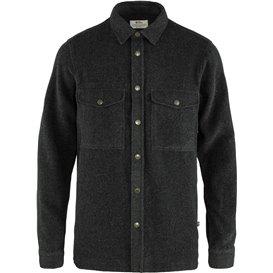 Fjällräven Canada Shirt Solid Herren Langarmhemd Freizeithemd dark grey