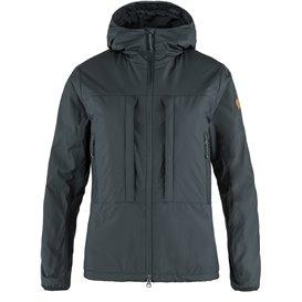 Fjällräven Keb Wool Padded Jacket Damen wattierte Winterjacke dark navy