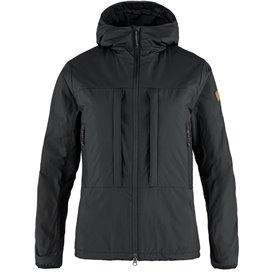 Fjällräven Keb Wool Padded Jacket Damen wattierte Winterjacke black