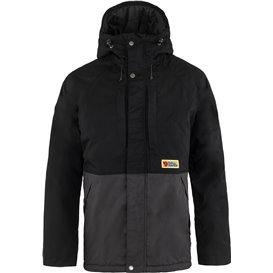Fjällräven Vardag Lite Padded Jacket Herren wattierte Winterjacke black-dark grey