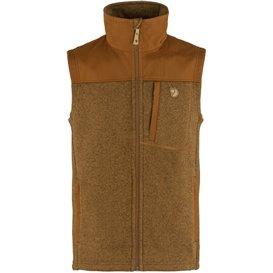 Fjällräven Buck Fleece Vest Herren Fleeceweste chestnut hier im Fjällräven-Shop günstig online bestellen