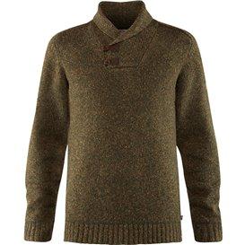 Fjällräven Lada Sweater Herren Strickpullover dark olive