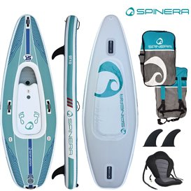 Spinera SUP Kayak SK 10 ausblasbares Kajak und Stand Up Paddle Board Luftboot SUP hier im Spinera-Shop günstig online bestellen