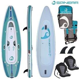Spinera SUP Kayak SK 12 ausblasbares Kajak und Stand Up Paddle Board Luftboot SUP hier im Spinera-Shop günstig online bestellen