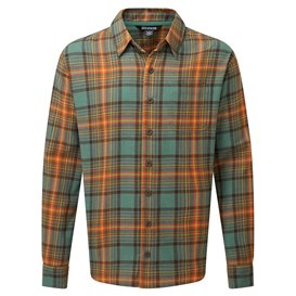 Sherpa Rudra Shirt Herren Langarmhemd Freizeithemd khola green