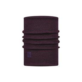 Buff Heavyweight Merino Wool Schal Schlauchschal solid deep purple