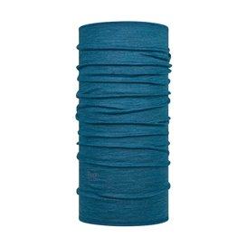 Buff Midweight Merino Wool Schal Schlauchschal dusty blue melange