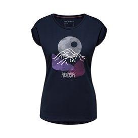 Mammut Mountain T-Shirt Damen Kurzarmshirt Print 1 marine