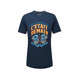 Mammut Massone T-Shirt Herren Kurzarmshirt Print 1 marine