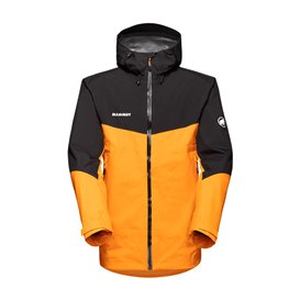 Mammut Convey Tour HS Hooded Jacket Herren Regenjacke dark radiant-black