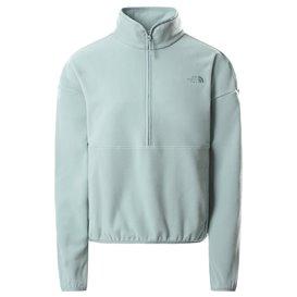 The North Face TKA Glacier Crop Damen Fleecepullover silver blue hier im The North Face-Shop günstig online bestellen