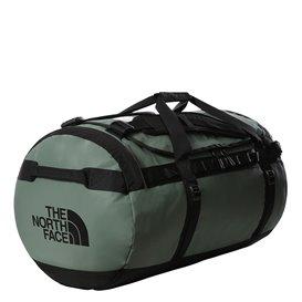 The North Face Base Camp Duffel Reisetasche laurel green-black hier im The North Face-Shop günstig online bestellen