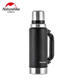 Naturehike Vakuum Thermoskanne Isolierflasche mit Becher 1250ml black hier im Naturehike-Shop günstig online bestellen