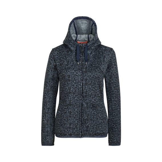 Mammut Chamuera ML Hooded Jacket Damen Fleecejacke marine hier im Mammut-Shop günstig online bestellen