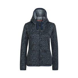 Mammut Chamuera ML Hooded Jacket Damen Fleecejacke marine
