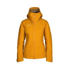 Mammut Convey 3 in 1 HS hooded Jacket Damen Winterjacke Doppeljacke golden-marine hier im Mammut-Shop günstig online bestellen