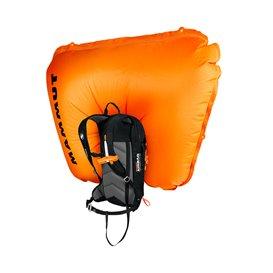 Mammut Flip Removable Airbag 3.0 Unisex Lawinenrucksack mit Airback black-vibrant orange hier im Mammut-Shop günstig online best