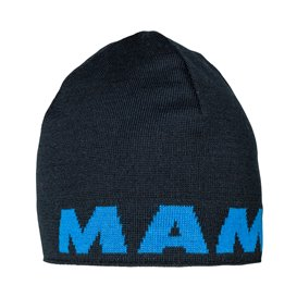 Mammut Mammut Logo Beanie Mütze Strickmütze marine-ice