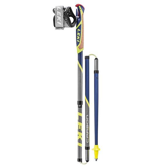 Leki Micro Flash Carbon Nordic Walking Stöcke blau-grau hier im Leki-Shop günstig online bestellen