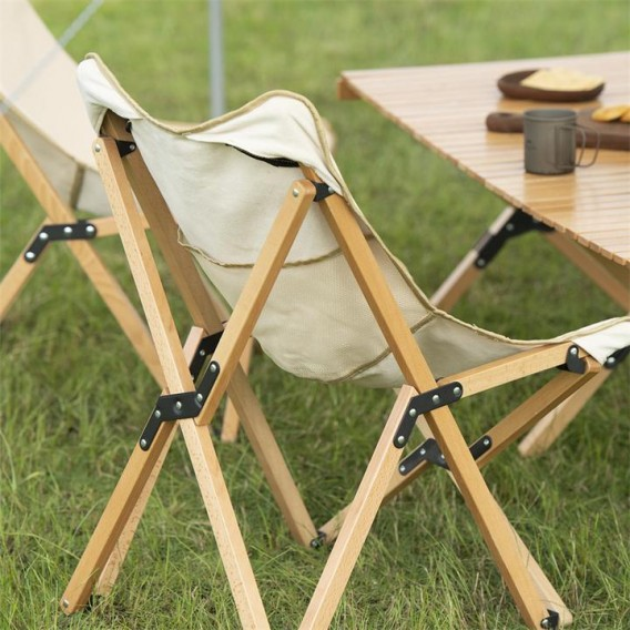 Naturehike Wooden Folding Chair M B-WARE Campingstuhl mit Holzgestell Faltstuhl hier im Naturehike-Shop günstig online bestellen