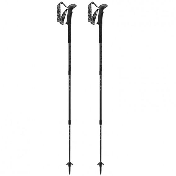 Leki Black Series SLS XTG Trekkingstöcke schwarz-weiß hier im Leki-Shop günstig online bestellen