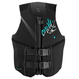 Oneill Womens Reactor 50N CE Vest Damen Neopren Prallschutzweste black