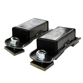 Eckla Adapter für Dachträger mit Nuten auf Holm