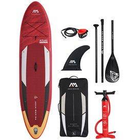 Aqua Marina Atlas 12.0 KUNDENRETOURE aufblasbares Stand Up Paddle Board SUP komplett Set