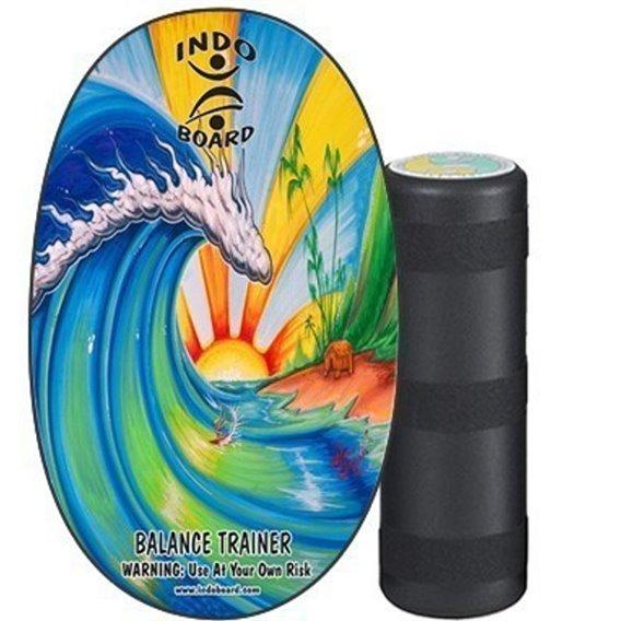 Indoboard Original Bamboo Beach Balancetrainer inkl. Rolle hier im Indo Board-Shop günstig online bestellen
