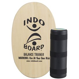 Indoboard Original Clear Balancetrainer inkl. Rolle