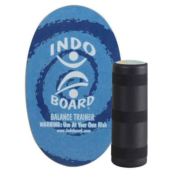 Indoboard Original Color Blue Circle Balancetrainer inkl. Rolle hier im Indo Board-Shop günstig online bestellen