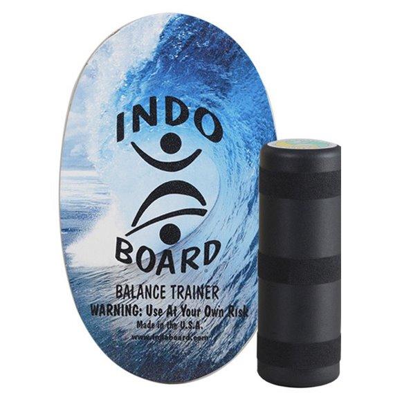 Indoboard Original Color Blue Wave Balancetrainer inkl. Rolle hier im Indo Board-Shop günstig online bestellen