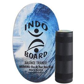 Indoboard Original Color Blue Wave Balancetrainer inkl. Rolle