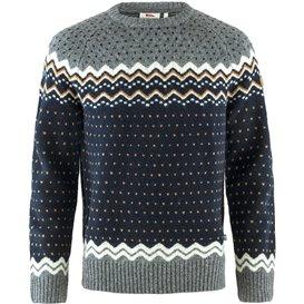 Fjällräven Övik Knit Sweater Herren Pullover Wollpullover dark navy hier im Fjällräven-Shop günstig online bestellen